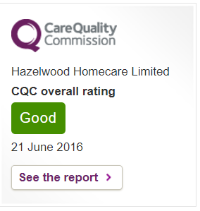 CQC Home Care Report